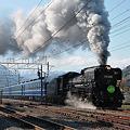 Photos: 後閑駅を発車するD51498