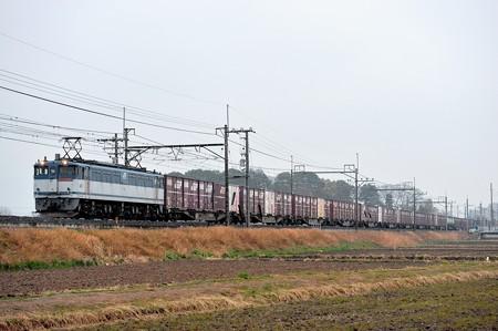 EF652088牽引高速貨物列車