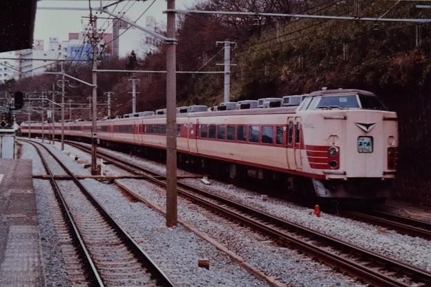Photos: 183系L特急あやめ号@市ヶ谷