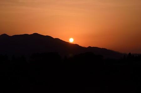 新潟の夜明け