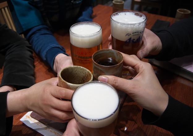 反省会の乾杯
