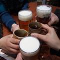 Photos: 反省会の乾杯