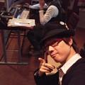 Photos: 雨の祇園TU-KO.NEW.CDレコーディング♪だいぶ仕上がってきましたよ(^^)只今ひたすら歌ってます☆TU-KO.CDよろしくです~☆