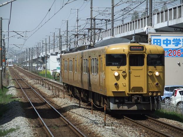 赤穂線115系1000番台 G-04編成