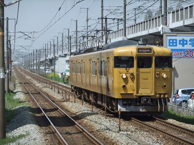 赤穂線115系1000番台 G-03編成