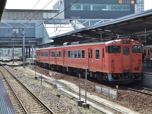 津山線キハ40系 キハ47 85他2両編成