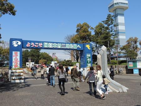 4/11(土) 木曽三川公園のチューリップ祭りに行ってきましたよ。