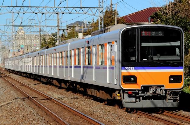 1212レ 51092F(2015/1/12 志木-柳瀬川間にて)