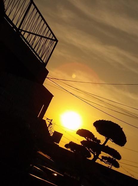 朝日 日の出