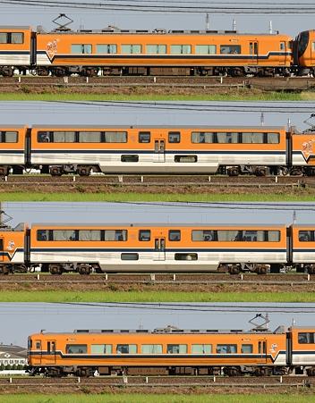 近鉄30000系30202F(V02)山側側面 2010.09.19