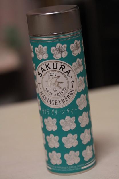 MARIAGE FRERES SAKURA 2015 - SAKURA GREEN TEA 缶