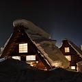 Photos: 白川郷の灯り