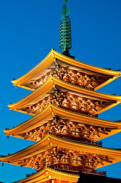 浅草寺・五重の塔