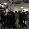 直江津駅 夜半過ぎのグッズ販売!