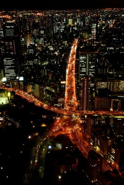 東京タワーからの夜景_6028