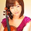 写真: 鎌田泉 かまたいずみ ヴァイオリン奏者 ヴァイオリニスト