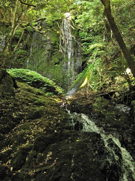 河内不動の滝三の滝.鏡野町