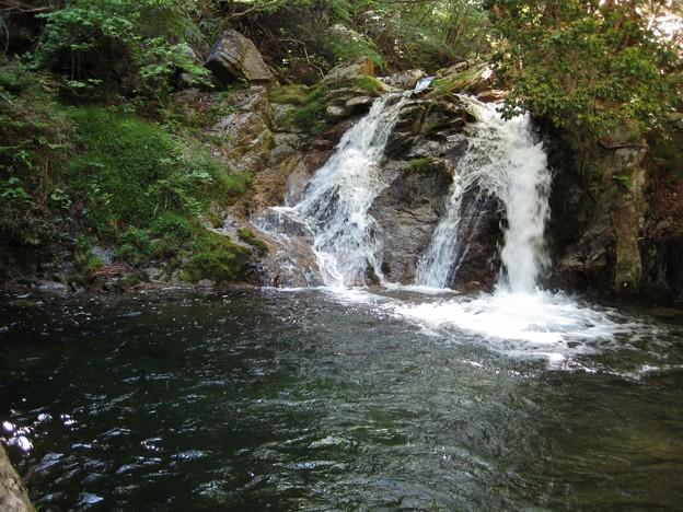 蘭頭原の滝.鏡野町