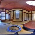 伊東市 東海館 360度パノラマ写真(4) 蘭の間 HDR