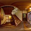 伊東市 東海館 360度パノラマ写真(7) 二階階段 HDR