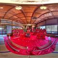 伊東市 東海館 360度パノラマ写真(8) 三階大広間 HDR