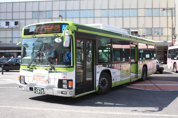 国際興業バス いすゞ・エルガ 7003号車