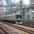 Photos: E231系1000番台U507編成 上野東京ライン開業記念ヘッドマーク (3)