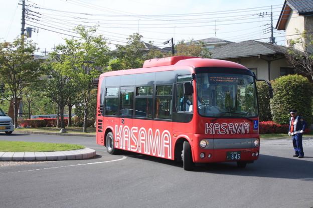 かさま観光周遊バス