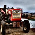写真: トラクター