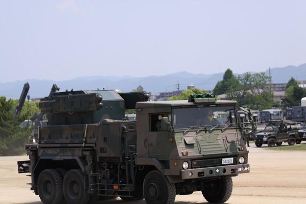 陸上自衛隊 大久保駐屯地 地対空誘導弾