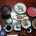 Photos: 岐阜的食事、こんな豪華な食事は年に数回