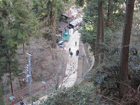 1号路登山道