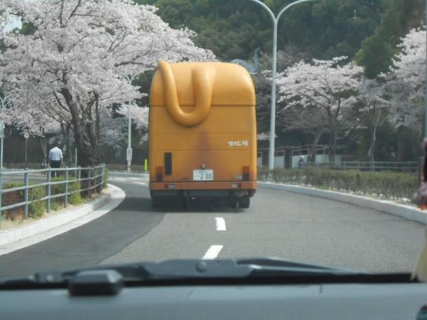 ライオンバスの後ろを~♪