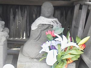 写真: 第57番大師像(龍前院)