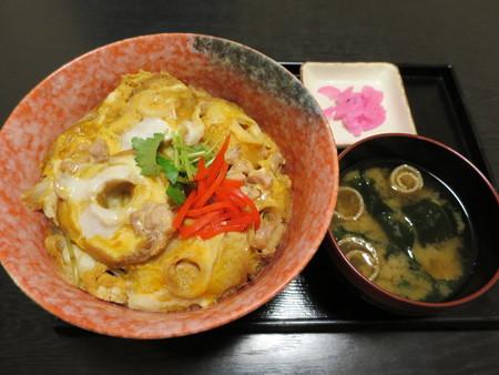 粋菜庵しなの 車麩丼(全国ご当地どんぶりまつり限定)¥580