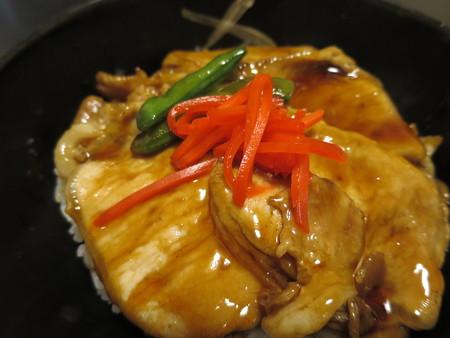 粋菜庵しなの 十勝豚丼(全国ご当地どんぶりまつり限定) アップ