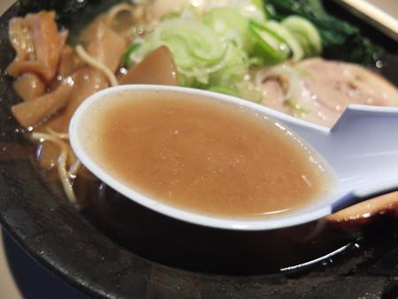 麺ぐるい とりとん魚介(ばりかた、こってり、白ねぎ) スープアップ