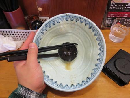 麺屋蕪村 特製蕪村そば 器の様子