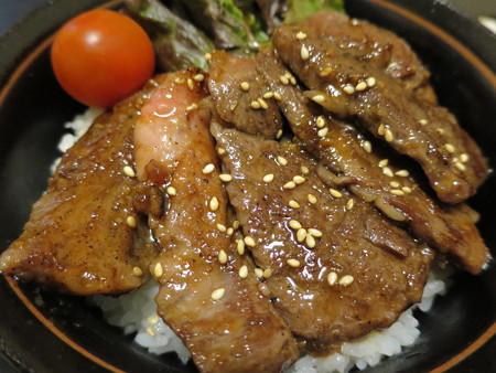 粋菜庵しなの 米沢牛焼肉丼(全国ご当地どんぶりまつり限定) アップ