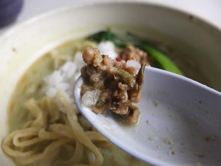 はな禅 山菜のベジ味噌麺(限定) 大豆ミートアップ