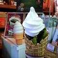 写真: 「雪萌えパフェ(スタンダード)」380円