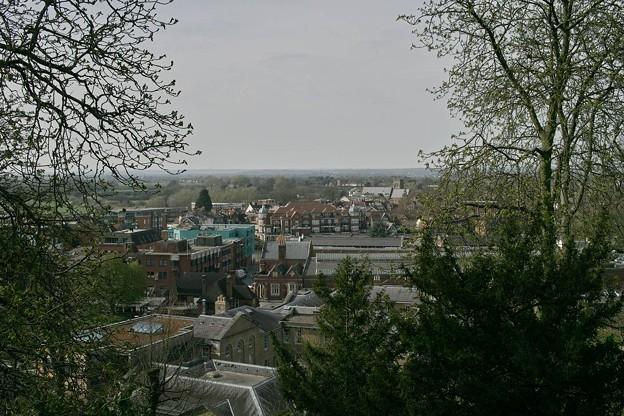 ウィンザー城からの眺め