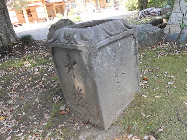 大光寺 水盤