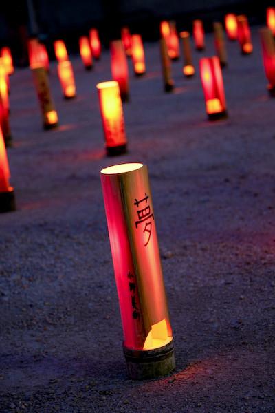 鎮魂の竹灯り-3