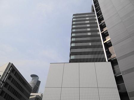 名古屋名駅4丁目交差点からの光景