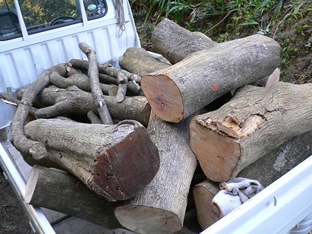 原木の運搬
