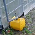 Photos: ハウスのかん水用タンクの改良