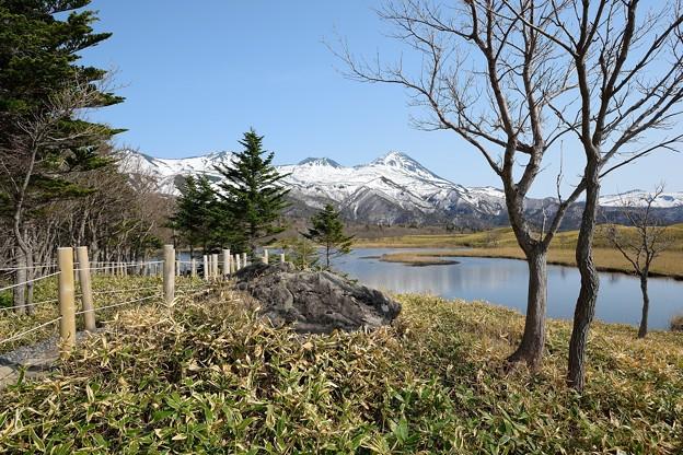 一湖&羅臼岳