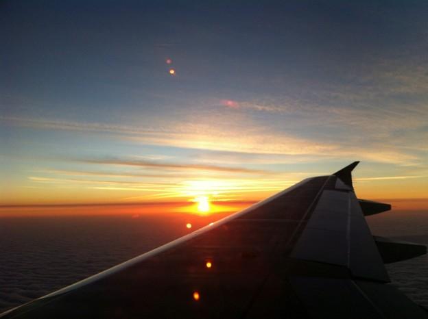 写真: Sunset 3-7-15