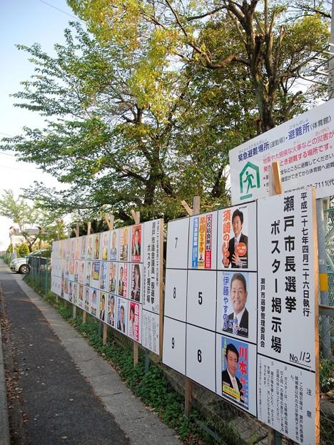 選挙 (12) 統一地方選挙 県議選 2015年 4月26日